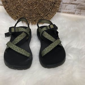 Chaco Green Sandals